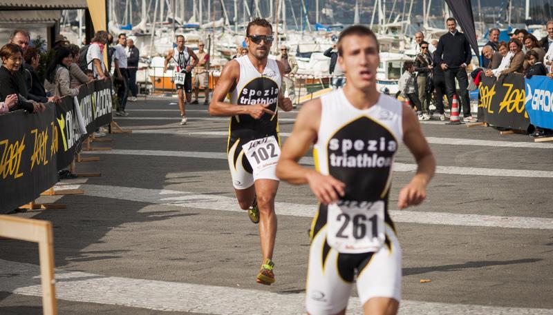 Arrivo - Triathlon di Lerici 2012